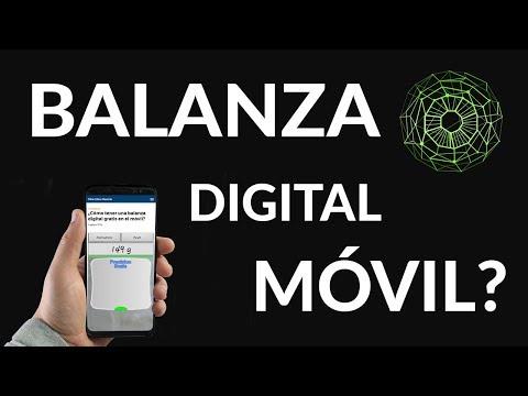 Balanza Digital para el Móvil