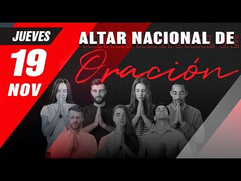 60. Altar Nacional de Oración | Jueves 19 de noviembre 2020