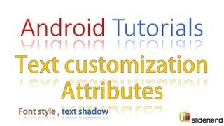 #64 Android Tutorial For Beginners: Android Text Customization Part 2 [HD 1080p]