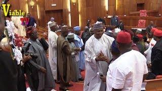 Just In : See Senators Outrage To Saraki's Fall in Kwara