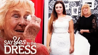 Bride's Grandmother Wants Her to Buy a New Dress | Say Yes To The Dress UK