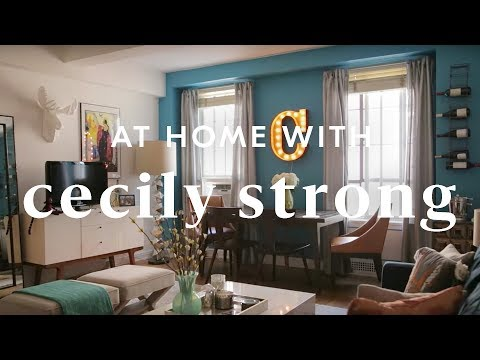 Cecily Strong Turns NYC Apartment Into Her Dream Space