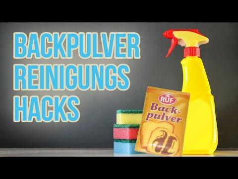 Top 5 Reinigungs Tricks mit Backpulver für Zuhause