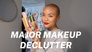 DECLUTTERING HALF OF MY MAKEUP COLLECTION (maybe More)