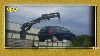 Утилизация Очень Дорогих Автомобилей!  КАДРЫ ДО СЛЕЗ  ЖЕСТЬ Подборка ШОК!