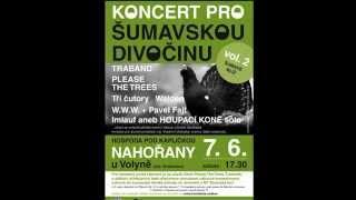 Video Druhý benefiční KONCERT PRO ŠUMAVSKOU DIVOČINU - TRAILER