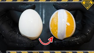 You Can Carve a RAW Egg?!