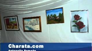 preview picture of video 'Antonela Semaan mostro su arte en Charata'