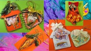 Новогодние украшения своими руками. DIY Christmas Decorations Ideas