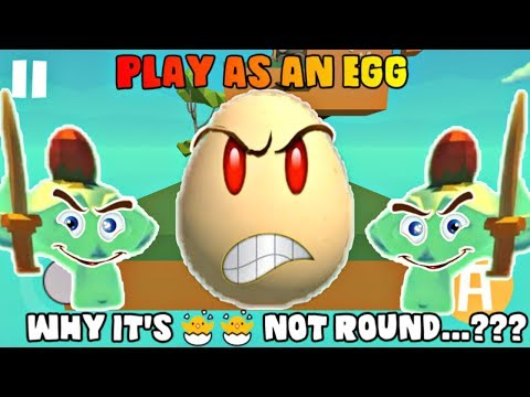 PLAYING AS AN EGG!! I AM A EGG (RAGE EDITION) | EGG SIMULATOR GAME