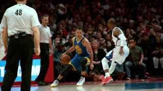 Steph Curry Dribbles Chris Paul into the Floor in Super Slow-Mo