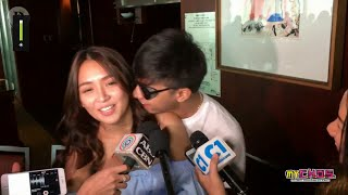 {Eng-Viet Sub} KathNiel's sweetness while talking about the upcoming movie.