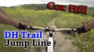 Riding Cox Hill at O'Neil Regional Park