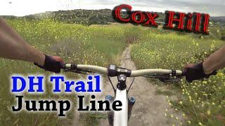 Riding Cox Hill at O'Neil Regional Park