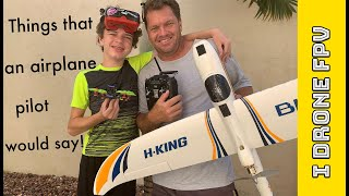 Free Style FPV How to spot an RC Airplane pilot