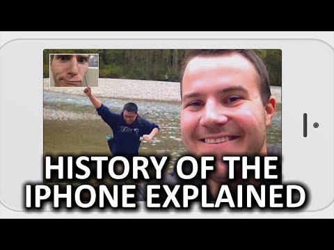 History of the iPhone As Fast As Possible