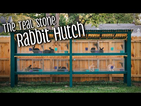 , title : 'Rabbit hutch remodel/build with KW Cages (silver fox and creme d'argent meat rabbits)