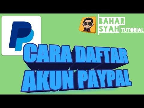 Video TERBARU 2017 CARA DAFTAR PAYPAL DI ANDROID