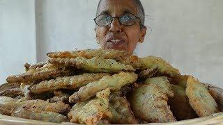 Village Food ❤ Traditional Green Gram (Mung Bean) Oil Cake Prepared In My Village By Grandma