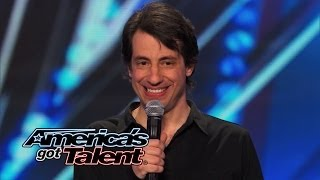 Dan Naturman: Stand-Up Comic Reveals Dating Disasters - America's Got Talent 2014 (Highlight)