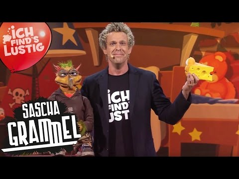 """Sascha Grammel """"Ich find's lustig!"""