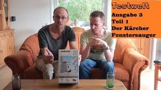 preview picture of video 'Produkttest: Testwelt Ausgabe 3 - Kärcher Fenstersauger [Teil 1]'