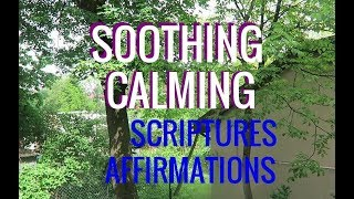 Soothing  Scriptures: Affirmations And Verse. (insomnia, Sleep, Anxiety, Depression)
