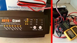 Smart Charger for Car Battery 6 -160AH / 12V 2A/4A/8A Smart Car Battery Charging Stages