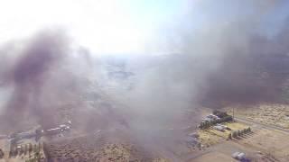DJI phantom 3se fire in pahrump
