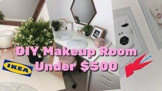 COMPLETE Makeup Room From Ikea & Kmart