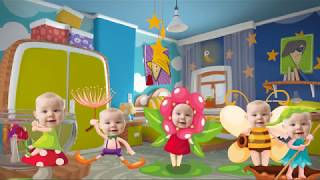 Laughing Baby with Family   +More Nursery Rhymes & Kids Songs