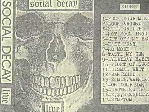 Social Decay - Hate Is Where The Heart Is - NJ Hardcore!!!