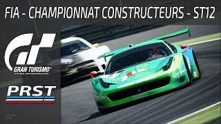 GRAN TURISMO SPORT: ST12 CHAMPIONNAT FIA DES CONSTRUCTEURS - MONZA ME VOILA !!