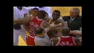 Top Five Michael Jordan Fights