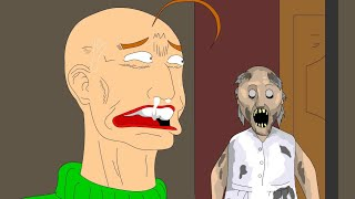 GRANNY THE HORROR GAME ANIMATION #2 Baldi VS Granny (Parody)