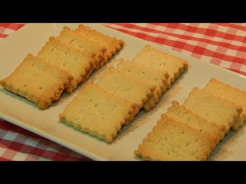 Receta fácil de galletas saladas