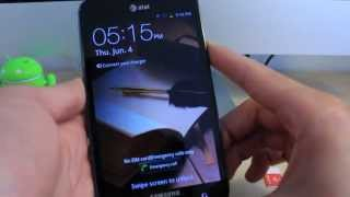 How To Unlock Samsung Galaxy Note - Tutorial