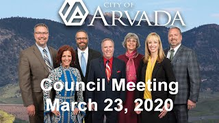 Preview image of City Council Meeting -  March 23, 2020