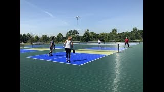 Tennis and ping pong had a baby -- pickleball. And, N.J. is loving it.