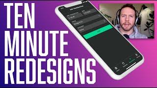 UI Tutorial: Redesigning the SpendWeek app (in 10 Min)