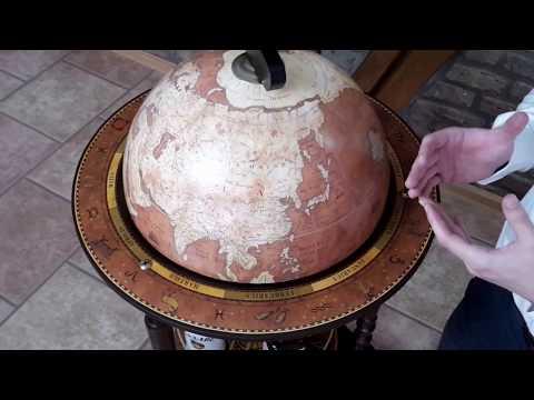 Globus Bar/Barglobus Da Vinci Rust von Zoffoli Teil 3: Vorstellung/Eigenschaften