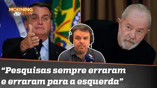 Bolsonaro ironiza pesquisa com Lula na frente: 'Tá com 110%'