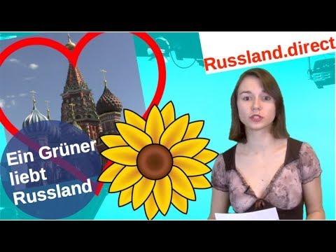 Ein Grüner liebt Russland [Video]