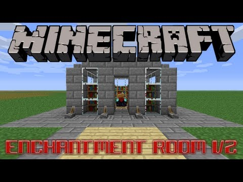Enchantment Room V2 Minecraft Project