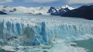 Giant Glacier Calving on Perito Moreno Glacier - Feb 2018