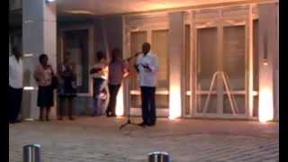 preview picture of video 'Jacques GILLOT soutien Gabrielle LOUIS CARABIN au Gosier le 7 juin 2012'