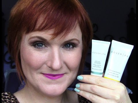 Cover FX Anti-Aging Face Primer and Anti-Age Eye Primer Review.