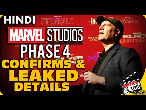 MCU Phase 4 Confirms & LEAKED Details [Explained In Hindi]