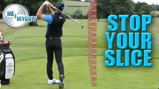 GOLF SWING TIP - FIX YOUR SLICE