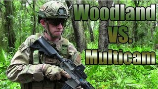 Camo Vs. Camo - Woodland Vs. Multicam